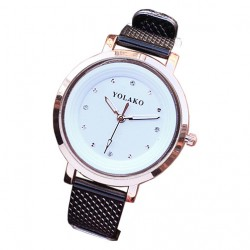 Crystal Leather Watches For Ladies.