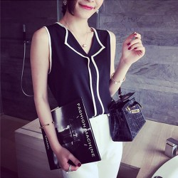 Fashion Womens Casual V Neck Blouse