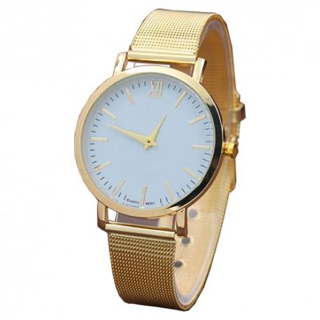 Women's Ultra thin Steel Quartz Watch