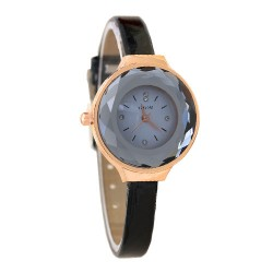 Crystal Dial Glass Thin Belt women's watch.