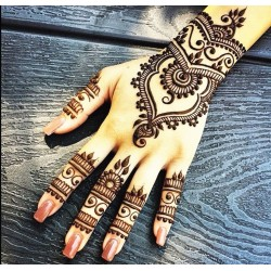 Mehndi Henna Paint Art Flash Tatoos