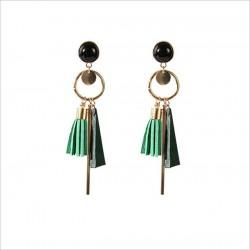Korean Fashion Tassel Drop Earrings.
