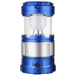 Solar USB Rechargeable 6 LED Lamp Lantern Light.