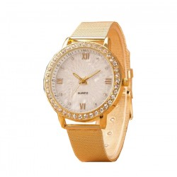 Fashion Casual Roman Numerals Wrist Watch