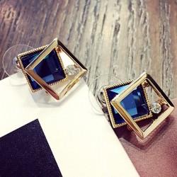 Korean style pearl crystal fashion female earrings