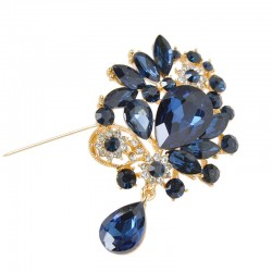 Women's Rhinestone Brooch Elegant Charming Brooch Accessory .
