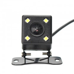 Car Rear View Backup Reversing,Top-lens Night Vision 4 IR LED Camera.