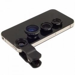 Lens 3 in 1 mobile phone clip lenses