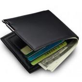 New men's short wallet iron side Korean young men's cross money wallet