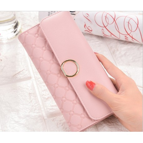 Cards Holder Women Lady Girls PU Leather Coin Bag Wallet Purse Long Clutch Bag