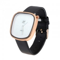 Men casual Quartz Watches Classic Business Leather Wrist watch for Men women