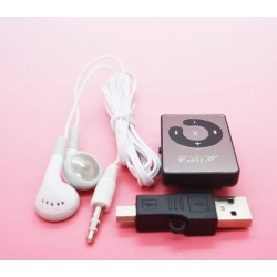 Mp3 player with earphone and charging adapter