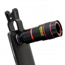 8X zoom telescope phone lens