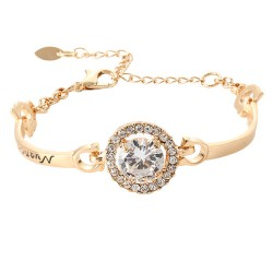 Fashion Bracelet & Bangle Rose Gold Plated Bracelets For Women