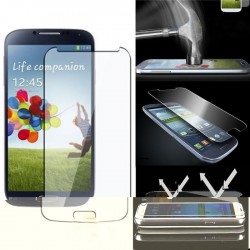 High quality 0.3mm tempered glass screen protector for Samsung S4