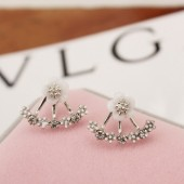 Fashion Jewelry Cute Cherry Flowers Earrings for Women Several Flowers Peach Earrings