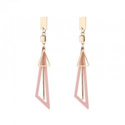 Long Tassel Korean Exaggerated Earrings Big Triangle Earrings For Women