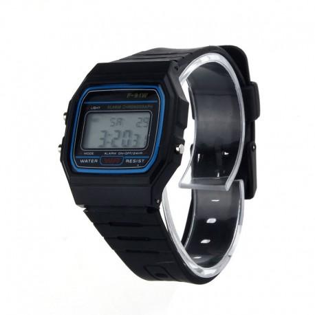 Digital Wrist Watch Sport Retro Classic Silicone Rubber Strap LCD Wrist Watch New