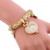 Fashion Luxury Women Watches Quartz Stainless Steel Bracelet Mesh Belt Wrist watch