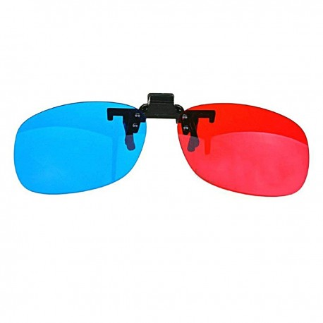 3D Glasses Blue Red Glasses Hanging Frame 3D Clip Type Myopia Special Stereo New