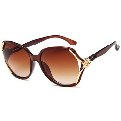 Roses Classic Sunglasses Fashionable Women's Retro Women's Sunglasses