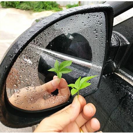 2 Pcs Rainproof Waterproof Car Rearview Mirror Sticker Anti-fog Film Rain Shield