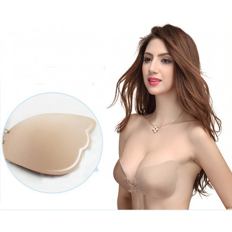 65dfff6254 Sexy Silicone Self Adhesive Push up Bra Magic Strapless Invisible Bras  Backless