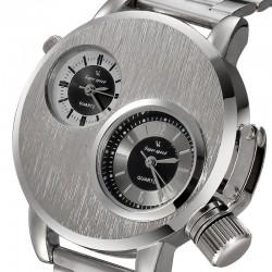 V6 Double Movement Men's wrist watch