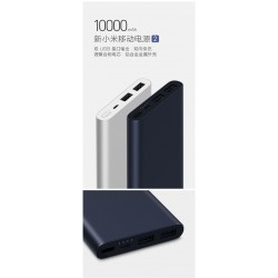 Xiaomi Mi 10000mah Power Bank 2 Dual USB Port Two-Way Quick Charge Fast Charging