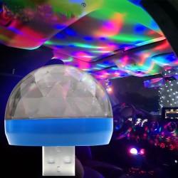 USB Mini LED RGB Disco Light