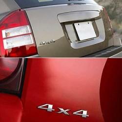 4x4 Four Wheel Metal Logo 3D Emblem Sticker Limited Car- SLIVE