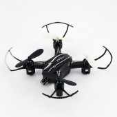 Mini infrared remote control four-axis aircraft resistant to drift remote drone