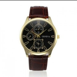 GENEVA Cheap China Factory Wholesale Mens watch Brand Wrist Watch