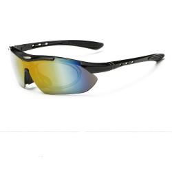 5 Lens UV400 Polarized Cycling Sunglasses