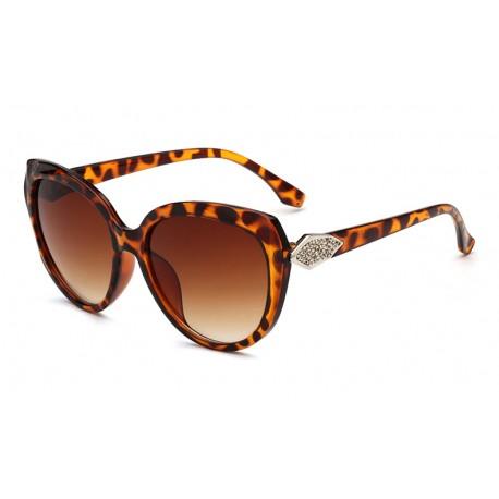 Leopard Frame Women Sunglasses