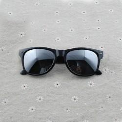 Vintage Sunglasses Men Women Brand Designer UV400-Black