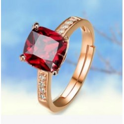 High end fashion zircon ring