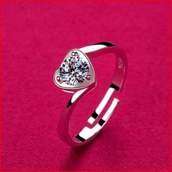 High quality imitation silver ring