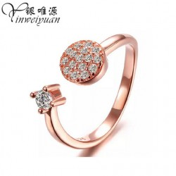 Adjustable Korean fashion hot ring
