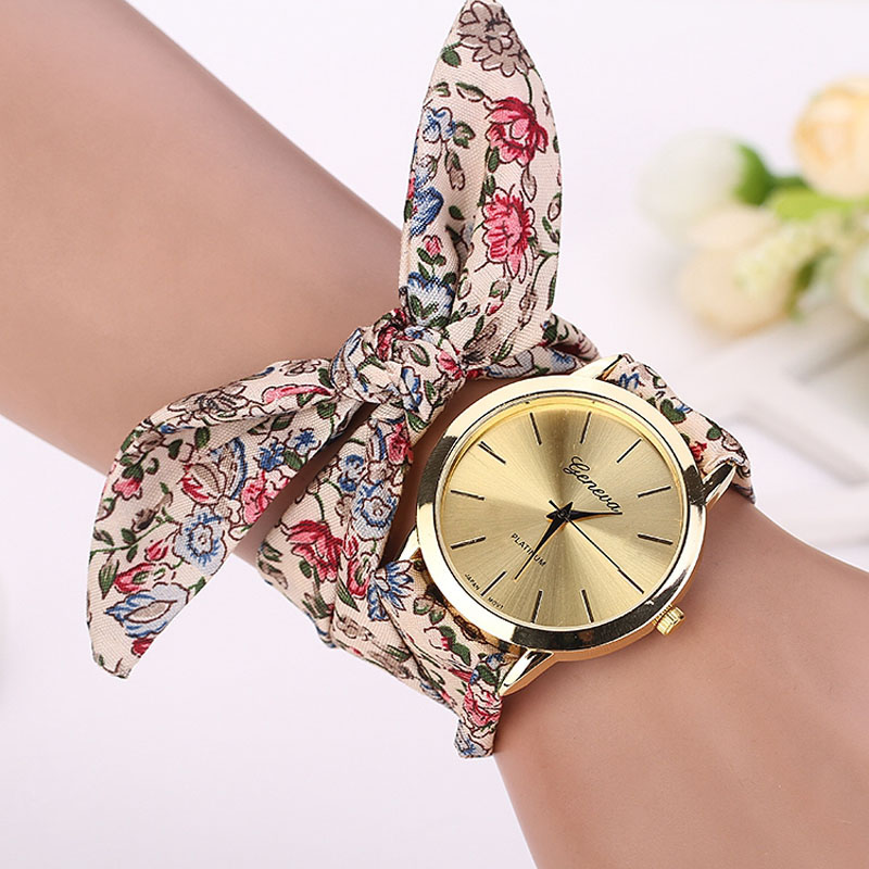 affiliate with designer pin time women new watch watches wristwatch clock quartz multicolor nylon ladies band cloth hotest fashion